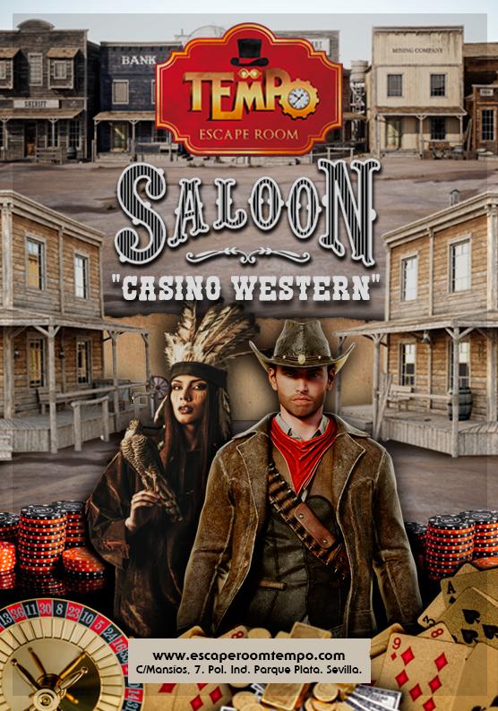 Escape Room en Camas: Saloon Casino Western